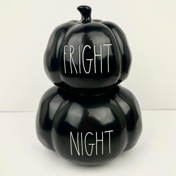 Rae Dunn Fright Night pumpkins 🖤🎃NEW